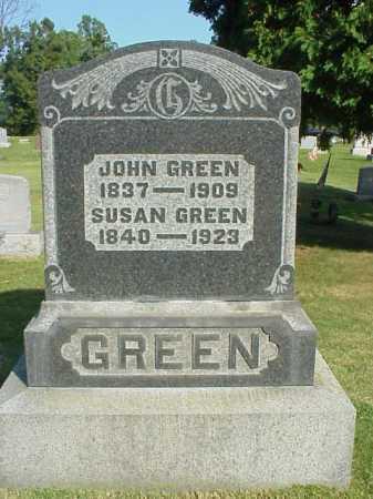 GREEN, JOHN - Meigs County, Ohio | JOHN GREEN - Ohio Gravestone Photos