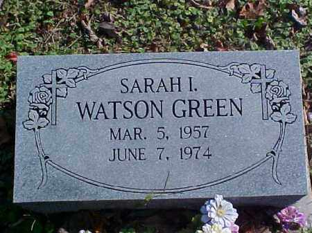WATSON GREEN, SARAH I. - Meigs County, Ohio | SARAH I. WATSON GREEN - Ohio Gravestone Photos