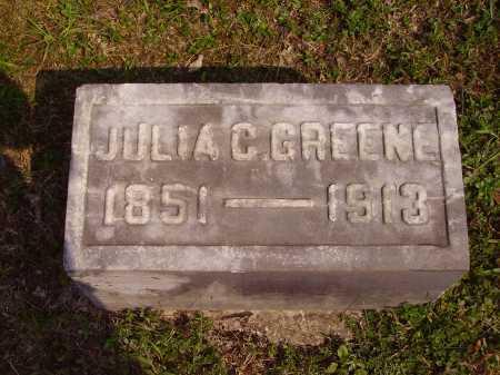 GREENE, JULIA C. - Meigs County, Ohio | JULIA C. GREENE - Ohio Gravestone Photos