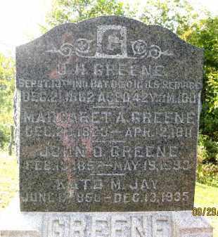 GREENE, JOHN O. - Meigs County, Ohio | JOHN O. GREENE - Ohio Gravestone Photos