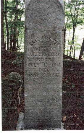 QUEEN GREGORY, ELIZABETH - Meigs County, Ohio | ELIZABETH QUEEN GREGORY - Ohio Gravestone Photos