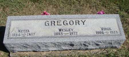 GREGORY, VIRGIL - Meigs County, Ohio | VIRGIL GREGORY - Ohio Gravestone Photos