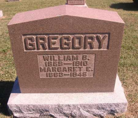 DILWORTH GREGORY, MARGARET - Meigs County, Ohio | MARGARET DILWORTH GREGORY - Ohio Gravestone Photos