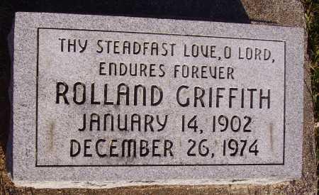 GRIFFITH, ROLLAND - Meigs County, Ohio | ROLLAND GRIFFITH - Ohio Gravestone Photos