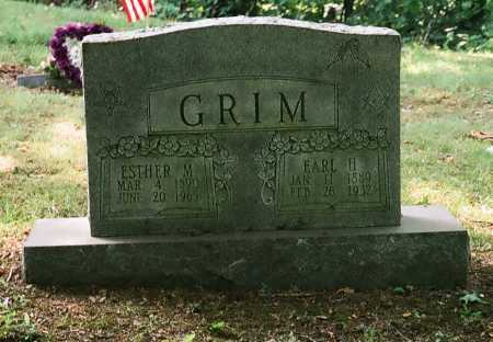 GRIM, EARL H. - Meigs County, Ohio | EARL H. GRIM - Ohio Gravestone Photos
