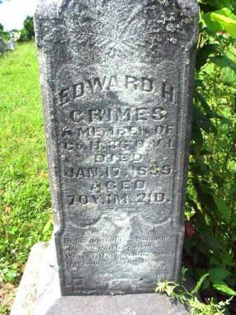 GRIMES, EDWARD H. - Meigs County, Ohio | EDWARD H. GRIMES - Ohio Gravestone Photos
