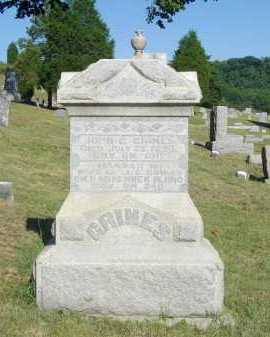GRIMES, JOHN G - Meigs County, Ohio | JOHN G GRIMES - Ohio Gravestone Photos