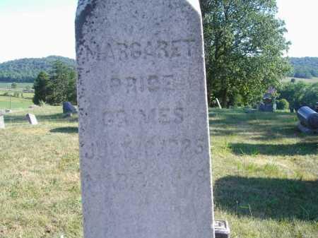 PRICE GRIMES, MARGARET - CLOSE VIEW - Meigs County, Ohio | MARGARET - CLOSE VIEW PRICE GRIMES - Ohio Gravestone Photos