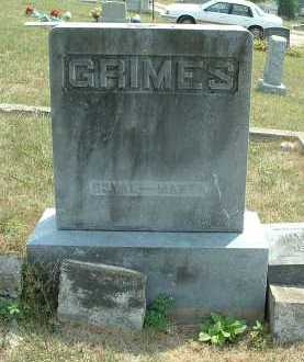 GRIMES, MANTA - Meigs County, Ohio | MANTA GRIMES - Ohio Gravestone Photos