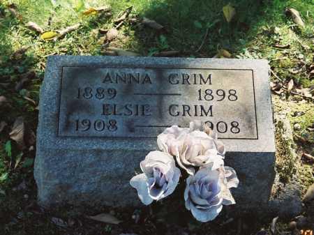 GRIMM, ANNA - Meigs County, Ohio   ANNA GRIMM - Ohio Gravestone Photos