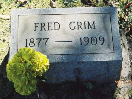 GRIMM, FRED - Meigs County, Ohio | FRED GRIMM - Ohio Gravestone Photos
