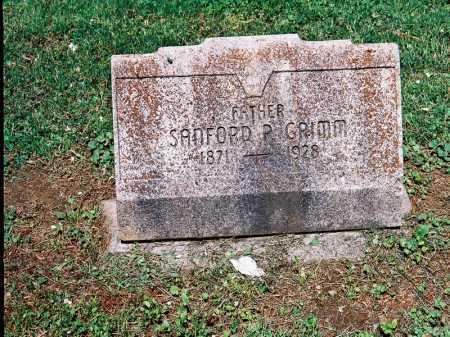 GRIMM, SANFORD P. - Meigs County, Ohio   SANFORD P. GRIMM - Ohio Gravestone Photos