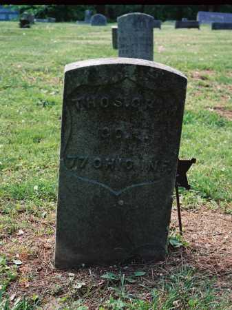 GRIMM, THOMAS - Meigs County, Ohio | THOMAS GRIMM - Ohio Gravestone Photos