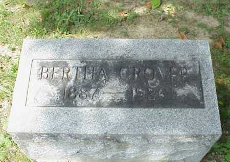 PRUITT GROVER, BERTHA - Meigs County, Ohio | BERTHA PRUITT GROVER - Ohio Gravestone Photos