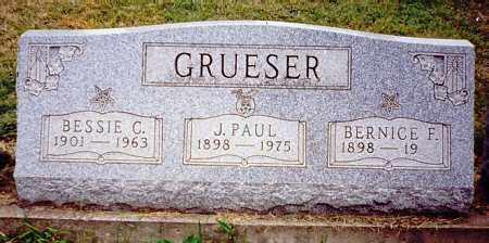 GRUESER, BERNICE F. - Meigs County, Ohio | BERNICE F. GRUESER - Ohio Gravestone Photos