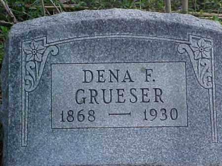 GRUESER, DENA F. - Meigs County, Ohio | DENA F. GRUESER - Ohio Gravestone Photos