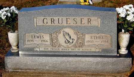 GRUESER, LEWIS - Meigs County, Ohio | LEWIS GRUESER - Ohio Gravestone Photos