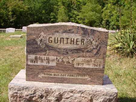GUNTHER, MOLLIE - Meigs County, Ohio | MOLLIE GUNTHER - Ohio Gravestone Photos