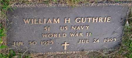 GUTHRIE, WILLIAM H. - Meigs County, Ohio   WILLIAM H. GUTHRIE - Ohio Gravestone Photos