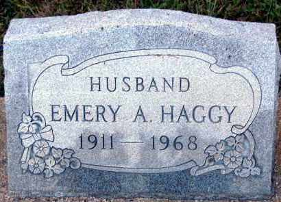 HAGGY, EMERY A - Meigs County, Ohio | EMERY A HAGGY - Ohio Gravestone Photos