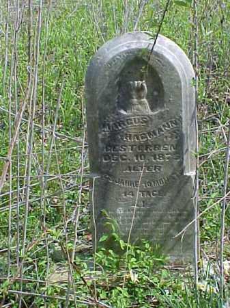 HAGMANN, MARCUS - Meigs County, Ohio   MARCUS HAGMANN - Ohio Gravestone Photos