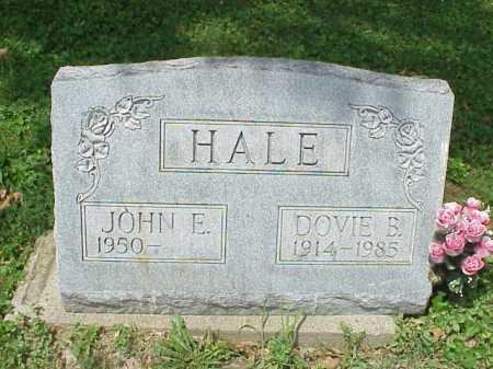 HALE, DOVIE B. - Meigs County, Ohio | DOVIE B. HALE - Ohio Gravestone Photos