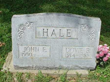 HALE, JOHN E. - Meigs County, Ohio | JOHN E. HALE - Ohio Gravestone Photos