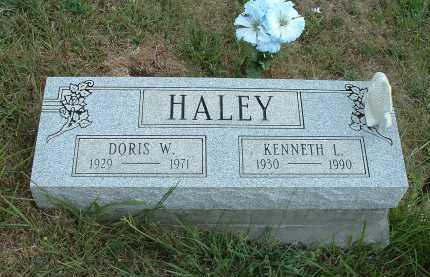 HALEY, DORIS W. - Meigs County, Ohio   DORIS W. HALEY - Ohio Gravestone Photos