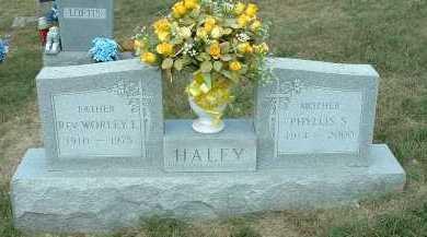 HALEY, PHYLLIS S. - Meigs County, Ohio   PHYLLIS S. HALEY - Ohio Gravestone Photos