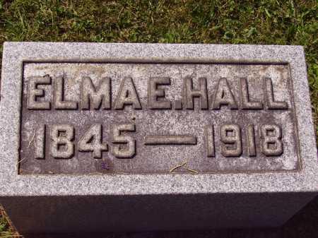 EDMUNDSON HALL, ELMA - Meigs County, Ohio | ELMA EDMUNDSON HALL - Ohio Gravestone Photos