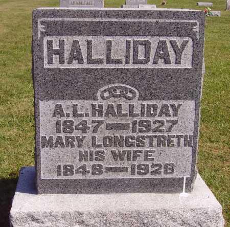 LONGSTRETH HALLIDAY, MARY SHAW - Meigs County, Ohio | MARY SHAW LONGSTRETH HALLIDAY - Ohio Gravestone Photos