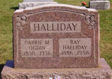 HALLIDAY, RAY - Meigs County, Ohio | RAY HALLIDAY - Ohio Gravestone Photos