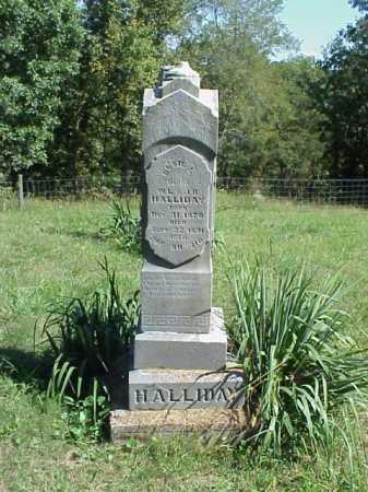 HALLIDAY, ELSIE L. - Meigs County, Ohio | ELSIE L. HALLIDAY - Ohio Gravestone Photos