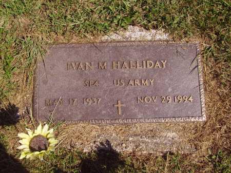 HALLIDAY, IVAN MERILL - Meigs County, Ohio   IVAN MERILL HALLIDAY - Ohio Gravestone Photos