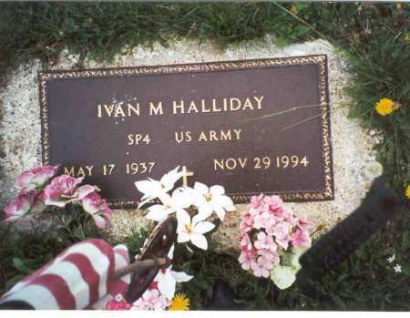 HALLIDAY, IVAN M. - Meigs County, Ohio | IVAN M. HALLIDAY - Ohio Gravestone Photos