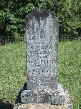 HALLIDAY, JESSE A. - Meigs County, Ohio | JESSE A. HALLIDAY - Ohio Gravestone Photos