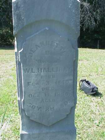 HALLIDAY, JEANNETTA B. - Meigs County, Ohio | JEANNETTA B. HALLIDAY - Ohio Gravestone Photos