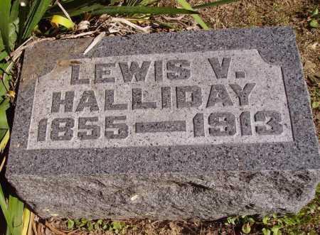 HALLIDAY, LEWIS VONSCHRILTZ - Meigs County, Ohio   LEWIS VONSCHRILTZ HALLIDAY - Ohio Gravestone Photos