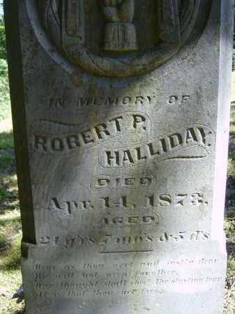 HALLIDAY, ROBERT P. - CLOSE VIEW - Meigs County, Ohio | ROBERT P. - CLOSE VIEW HALLIDAY - Ohio Gravestone Photos