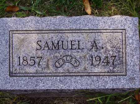 HALLIDAY, SAMUEL A. - Meigs County, Ohio | SAMUEL A. HALLIDAY - Ohio Gravestone Photos