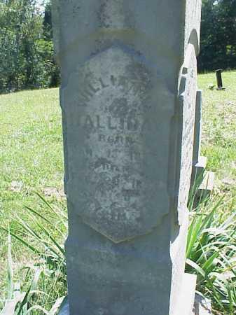 HALLIDAY, WILLIAM L. - Meigs County, Ohio | WILLIAM L. HALLIDAY - Ohio Gravestone Photos