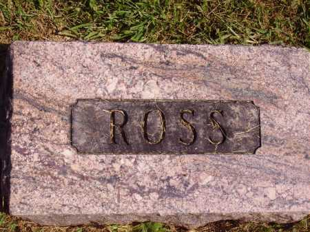 HALLIDAY, WILLIAM ROSS - FOOTSTONE - Meigs County, Ohio   WILLIAM ROSS - FOOTSTONE HALLIDAY - Ohio Gravestone Photos