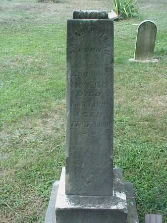 HALLMAN, SARAH - Meigs County, Ohio | SARAH HALLMAN - Ohio Gravestone Photos