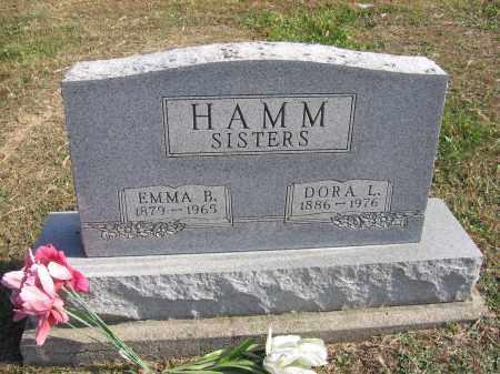 HAMM, DORA L. - Meigs County, Ohio | DORA L. HAMM - Ohio Gravestone Photos