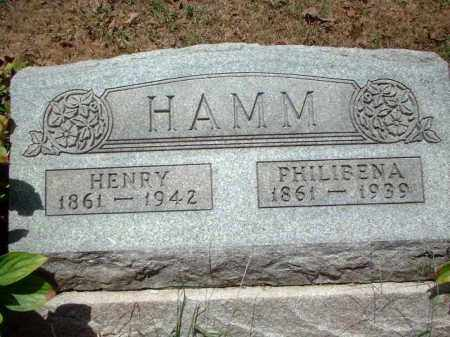 HAMM, HENRY - Meigs County, Ohio | HENRY HAMM - Ohio Gravestone Photos