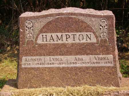 HAMPTON, LYDIA - Meigs County, Ohio | LYDIA HAMPTON - Ohio Gravestone Photos