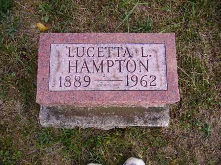 HAMPTON, LUCETTA L. - Meigs County, Ohio | LUCETTA L. HAMPTON - Ohio Gravestone Photos