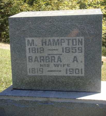 HAMPTON, BARBARA A. - Meigs County, Ohio | BARBARA A. HAMPTON - Ohio Gravestone Photos