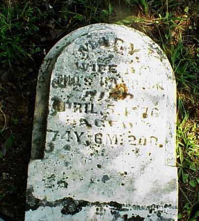 HAMPTON, MARY - Meigs County, Ohio | MARY HAMPTON - Ohio Gravestone Photos