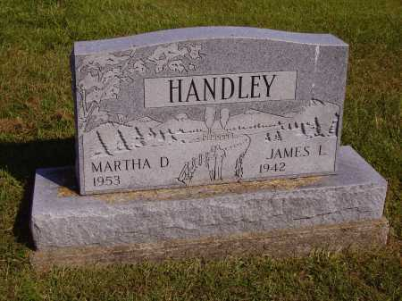 HANDLEY, MARTHA D. - Meigs County, Ohio | MARTHA D. HANDLEY - Ohio Gravestone Photos